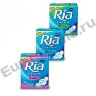 RIA Ultra Silk Sanitary Towels, 10 шт.,ж